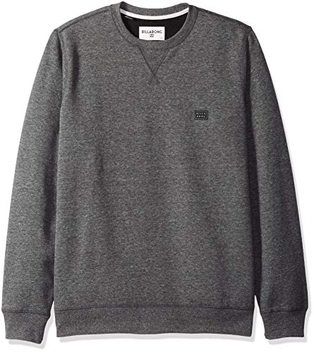 - Billabong Men's All Day Crew Fleece Black Small