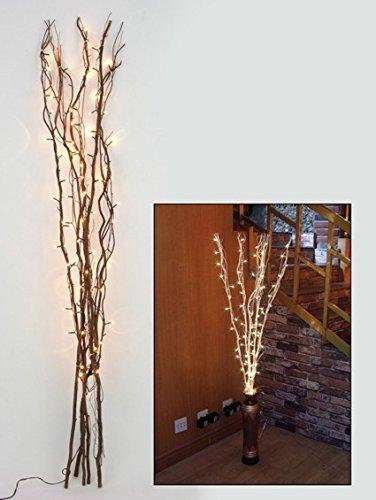 Lichterzweige mit 80 Lampen aus 5 Zweigen mit je 120 cm Länge, incl. Adapter