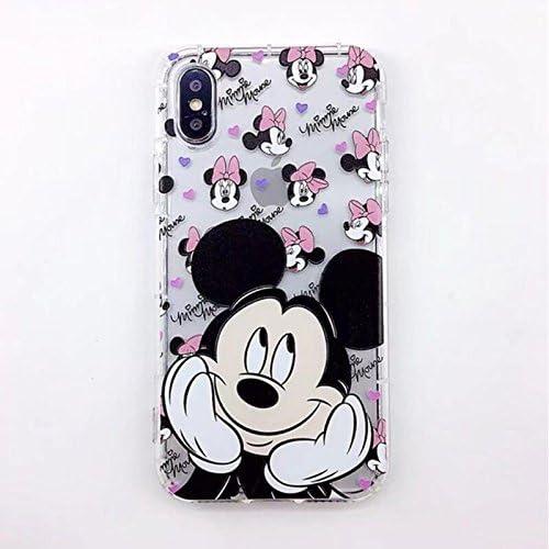Disney Cartoon Mickey Casing iPhone X 8