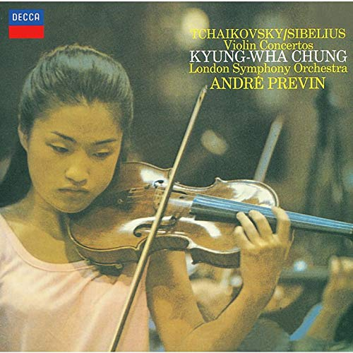 SACD : Chung Kyung-Wha - Tchaikovsky & Sibelius: Violin Concertos (Limited Edition, Direct Stream Digital, Super-High Material CD, Japan - Import, Single Layer SACD)