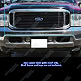 APS F65707H Black Powder Coated Grille Bolt Overover for select Ford F-250 Super Duty Models
