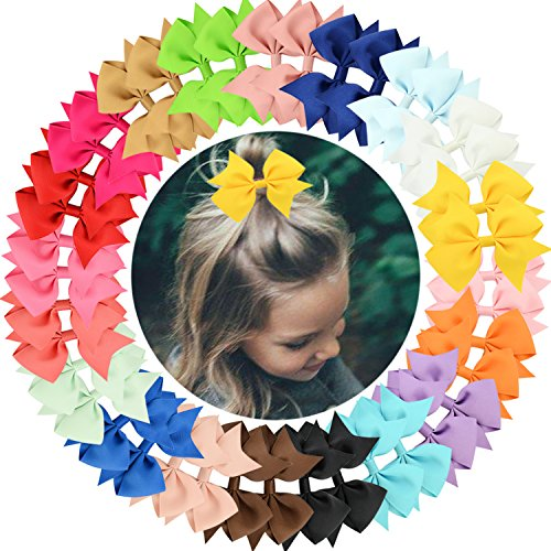 40pcs Baby Girls Clips 2