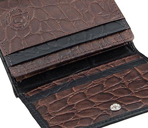 marron monnaie Marron Bugatti Coco Porte noir Cm 10 Noir 8AxqRZ15w