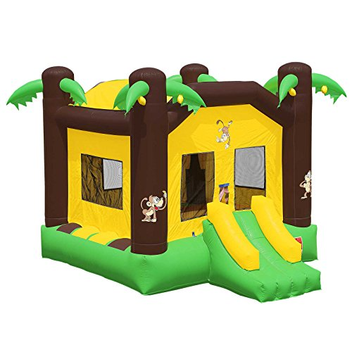 - Inflatable HQ Commercial Grade Bounce House 100% PVC Jungle Jumper Inflatable Only