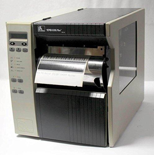 Zebra 170xiIII Plus 172-741-00200 Thermal Barcode Printer USB Network Rewinder 200 dpi