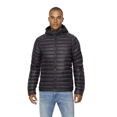 fc83df4c360 32 DEGREES Mens Ultra Light Hooded Down Packable Jacket