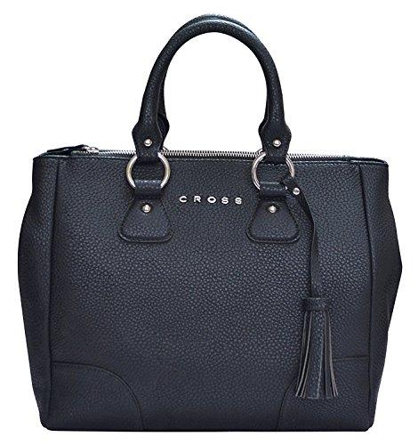 Cross Women's Artificial Leather Italica Double Handled Shoulder Bag - Black