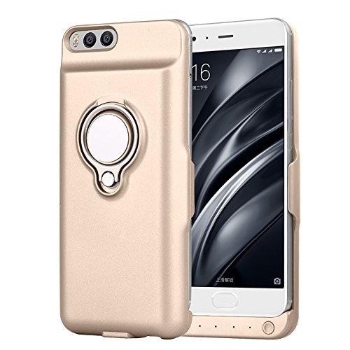 Xiaomi Mi 6 Funda Batería, LifeePro para Xiaomi Mi 6 Portable Charging Case 6000mAh Recargable Externo Portátil Power Bank Backup Cubierta Protectora ...