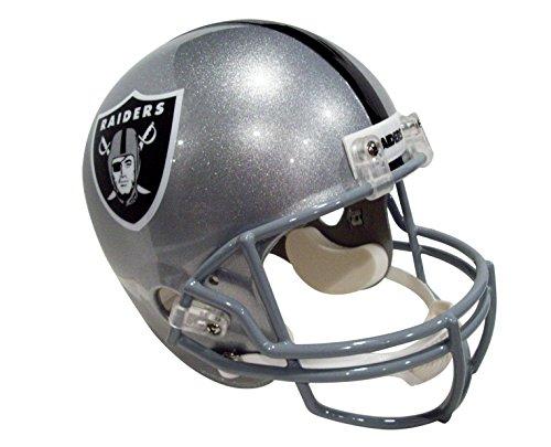 NFL Oakland Raiders Deluxe Replica Football Helmet Full Size -- (New Version) by Riddell