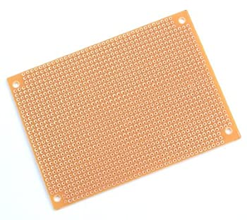 Solderable Copper Pad Extra Large Perf Board (5 pack)