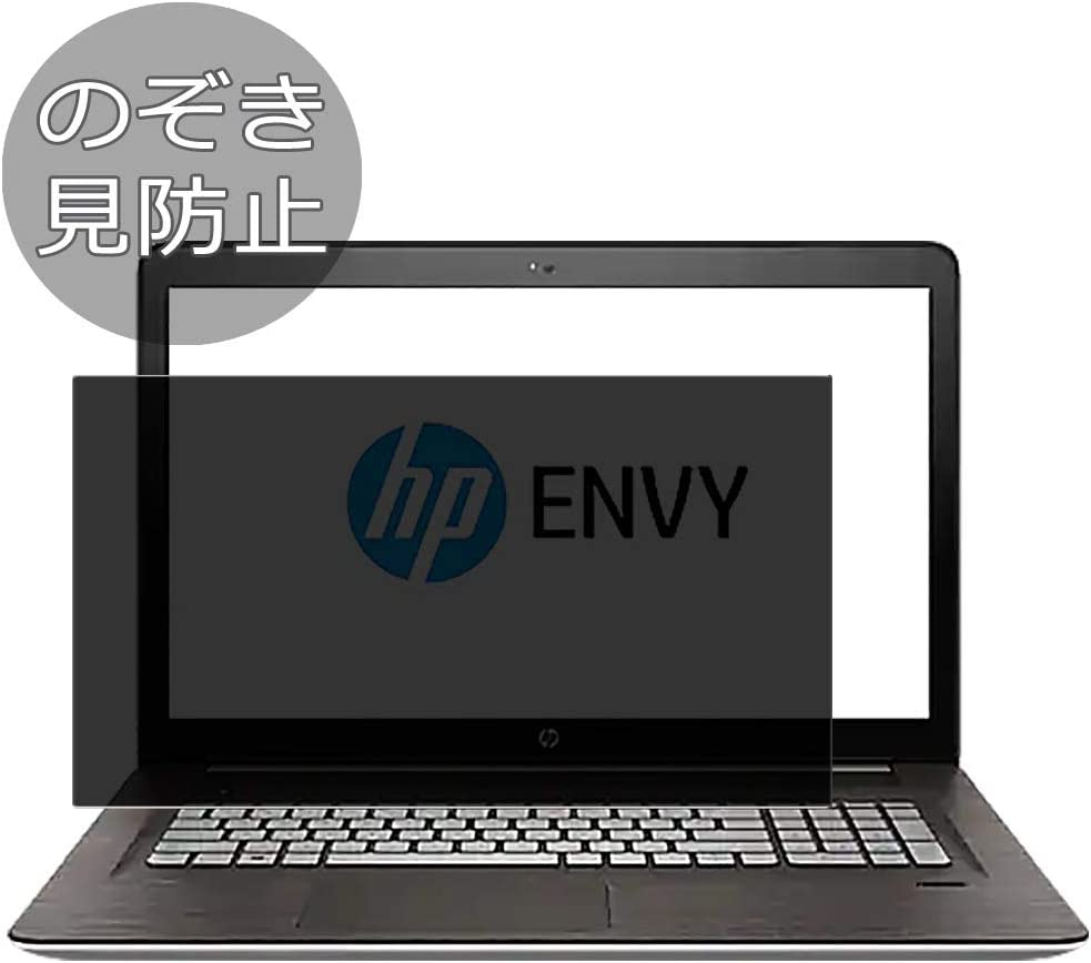 """Synvy Privacy Screen Protector Film for HP Envy m7-n000 / n011dx / n014dx 17.3"""" Anti Spy Protective Protectors [Not Tempered Glass]"""