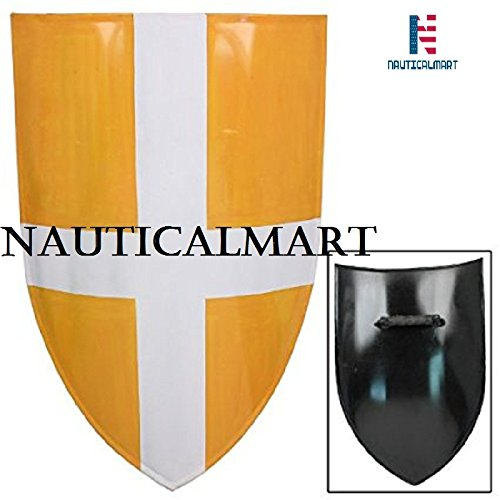 Medieval Knight St. George Heater Shield NauticalMart by NAUTICALMART