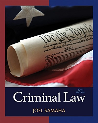 Criminal Law (MindTap Course List)