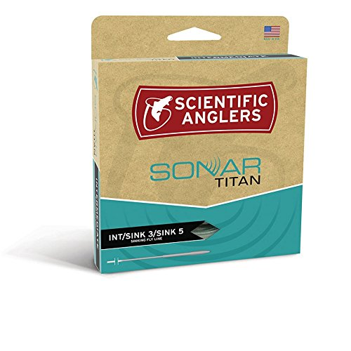 Scientific Anglers Sonar Titan Taper Intermediate / Sink 3 / Sink 5 - Pale Green / Olive / Charcoal (Textured), WF-10-S Textured