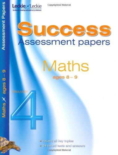 8-9 Mathematics Assessment Success Papers PDF