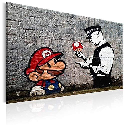 artgeist Canvas Print Banksy 23.6