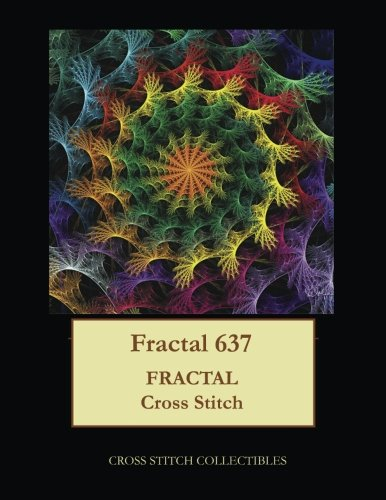 - Fractal 637: Fractal cross stitch pattern