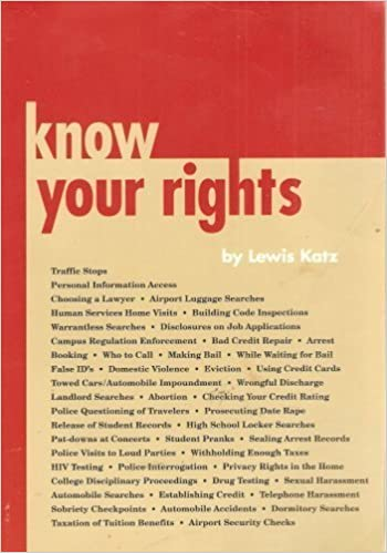 Book Know Your Rights