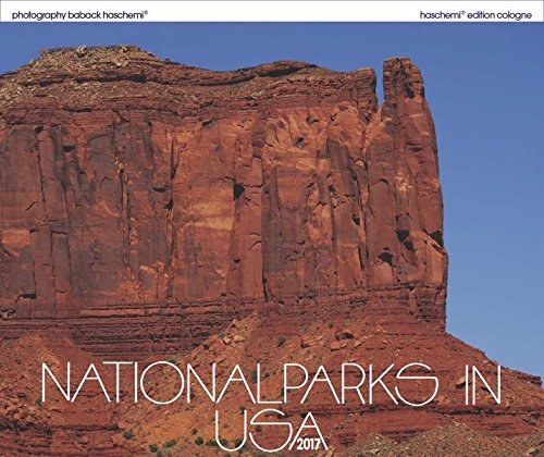 Nationalparks in USA 2017: Fotokunstkalender XL Format 50 x 42 cm