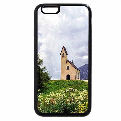 iPhone 6S / iPhone 6 Case (Black) Dolomiti-Val Gardena