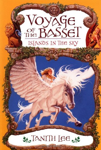 voyage of the basset, author tanith lee, fantasy books, epic reads, epic fantasy book, high fantasy book, mythology, adventure book, middle grade books, YA books, pegasus, unicorn, girl, best books, am reading, storytelling, book list,