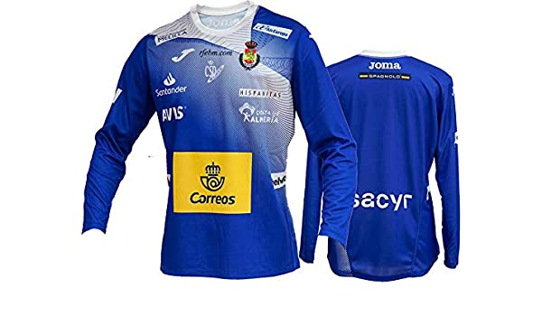 Camiseta Joma Portero España Balonmano 2019 Azul - XXL: Amazon.es ...