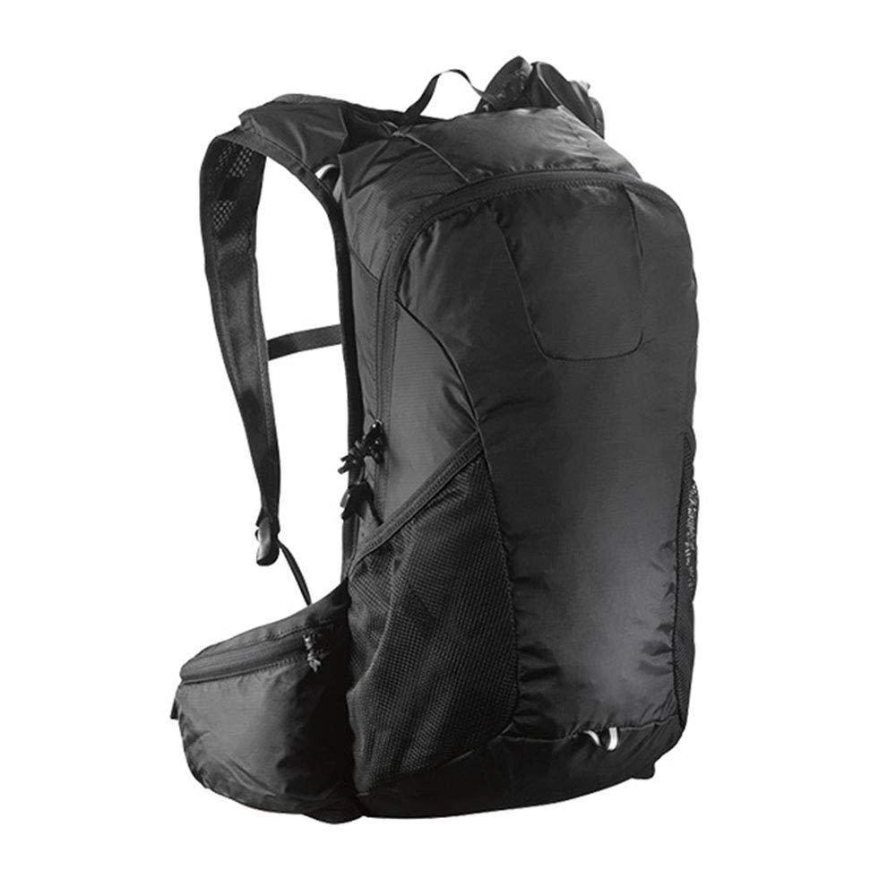 ハイキングバックパック多機能男性と女性のアウトドアハイキングバックパック20 L  black B07PQY3WV4
