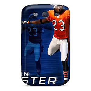 Cute Appearance Cover/tpu Tqr6335GdjB Chicago Bears Case For Galaxy S3