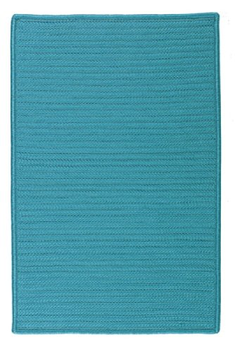 Simply Home Solid Turquoise 3ft x 5ft