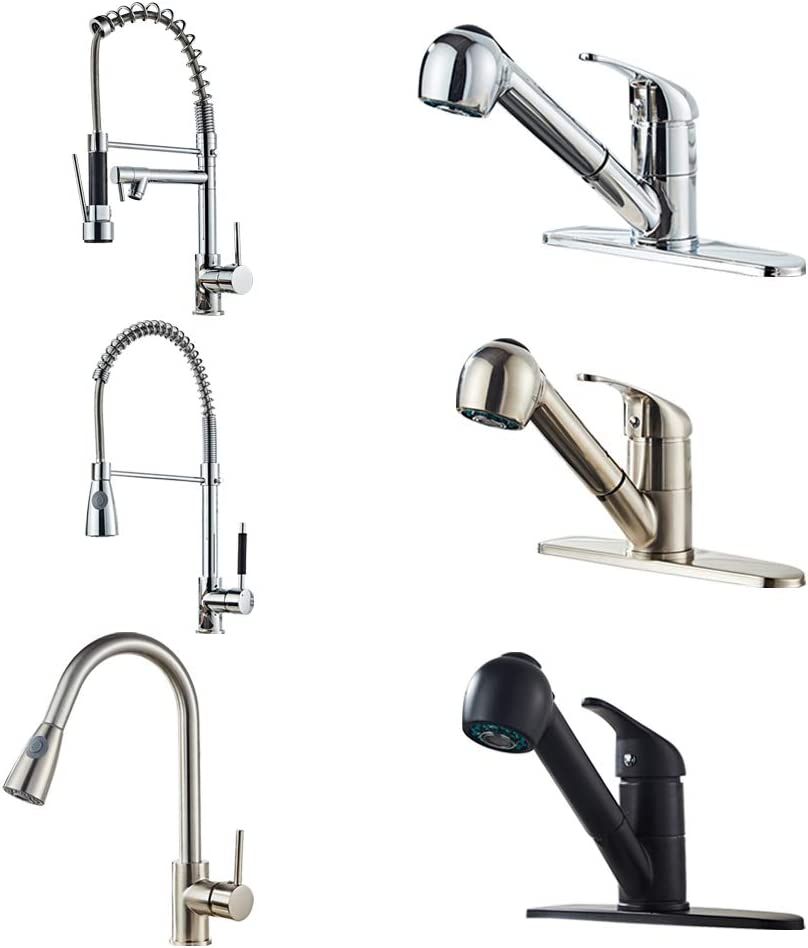 Sink Faucet All Copper Kitchen Pull Black Faucet Faucets U.S.Shipment