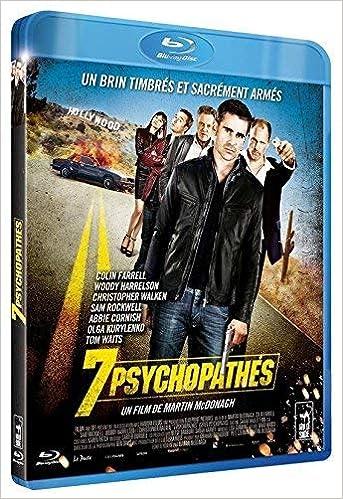 7 Psychopathes Blu Ray 3700301035981 Amazoncom Books
