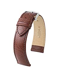 Hirsch Highland Brown Textured Italian Calf Skin Watch Strap 043020-10-24