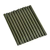 Black Colored Glue Stick mini X 4 12 sticks by GlueSticksDirect.com