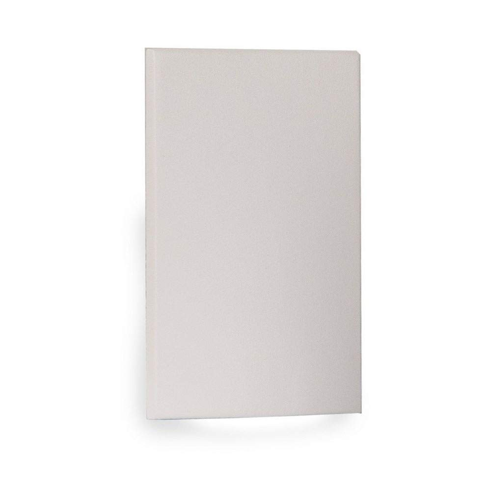 WAC Lighting WL-LED210F-C-WT 277V 3000K LED Vertical Scoop Step and Wall Light, White