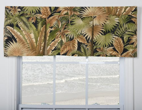 Breeze Window Valance - Victor Mill Bahamian Nights Pleated Valance