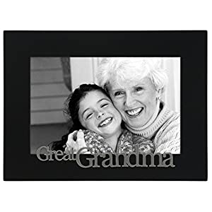 malden international designs great grandma expressions picture frame 4x6 black
