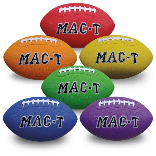 MAC-T PE08700 Soft Tek Football, 10'' Junior Size (Pack of 6) by MAC-T