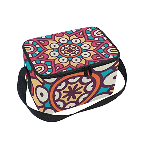 FORMRS Insulated Lunch Box Roma Art Lunch Bag for Men Women, Portable Tote Bag Cooler Bag for Work/School/Picnic ()