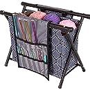 ArtBin 6932AG Needle Arts Caddy Knitting & Crochet Storage, Gray Print