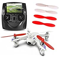 Hubsan X4 H107D 2.4G 6-Axis FPV RC Quadcopter RTF With Live LCD Transmitter (Include Camera)