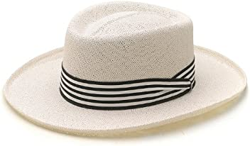 c7ea6a453a7 Dobbs Barbados Straw Summer Hat Fined Twisted Cord Gambler Men s Size Small