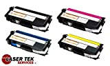 Laser Tek Services High Yield Toner Cartridge 4 Pack Compatible with Brother HL-4570cdw TN315BK TN315C TN315Y TN315M