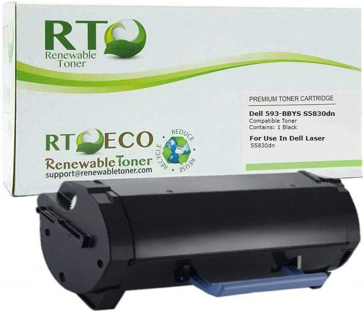 Renewable Toner Compatible Toner Cartridge Replacement for Dell 593-BBYS X68Y8 for S5830dn