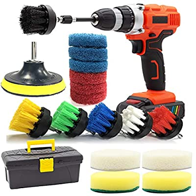 6 Pieces Drill Cleaning Brush