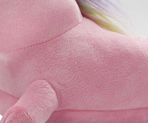 Eu blanc Chaussures Hiver De 35 Rose Violet Maison Peluche Adulte Chaussons 40 Unicorn Pantoufle Rose Licorne Taille qOYSv