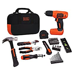 Image of the product BLACK+DECKER 8V Drill & that is listed on the catalogue brand of BLACK+DECKER. Scored with a 3.0 over 5.