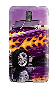 Protective Tpu Case With Fashion Design For Galaxy Note 3 (1932 Ford Hi Boy Roadster)