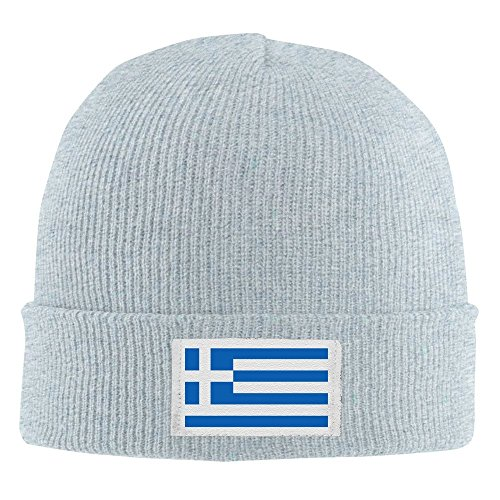 Bandera griega punto cálido Ceniza tapa fresno invierno de gorro rrC4q