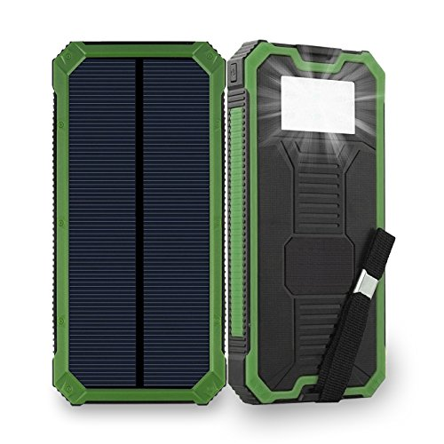 Solar Powered Cellphone Charger Case - 1