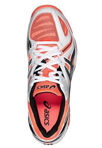 3 Elite Coral Zapatillass White volley Asics Gel silver hot 2016 wHxptE